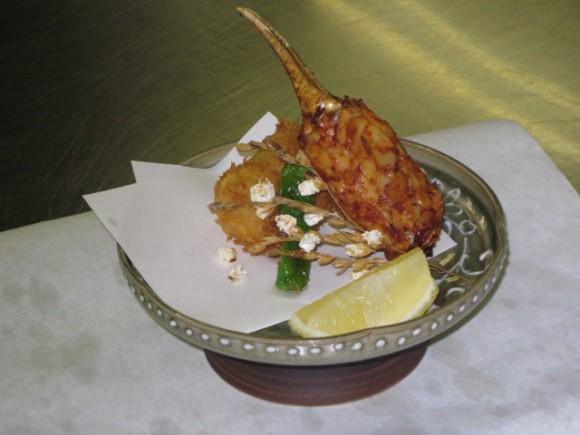 カニクリームコロッケ&蟹爪フライ